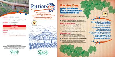 Leaflet Patriot Dry